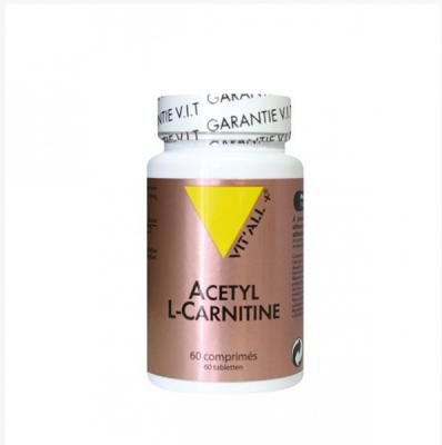 Acetyl l carnitine 250mg 60 vcaps vitall 6800 1