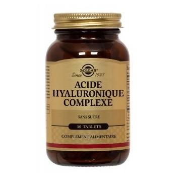 Acide hyaluronique complexe 120mg 30 tablets solgar 342 1
