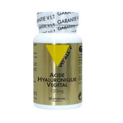 Acide hyaluronique vegetal 120 mg 30 comprimes vitall 273 1