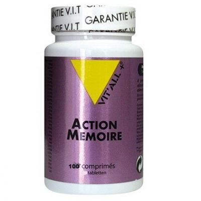 Action memoire 100 comprimes vitall 4060 1
