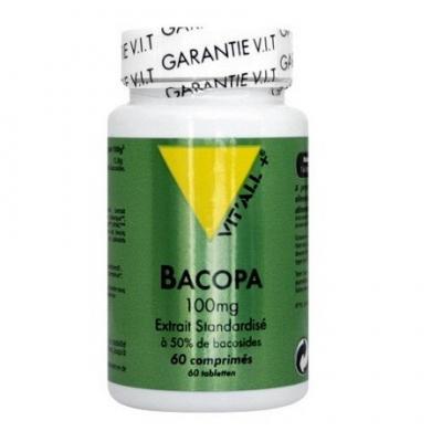 Bacopa 100mg 60 comprime s vitall