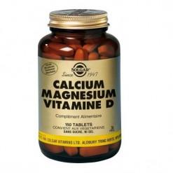 Calcium magne sium vitamine d 150 comprime s solgar