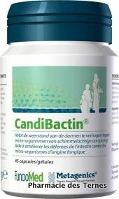 Candibactin candex 45 capsules metagenics 1