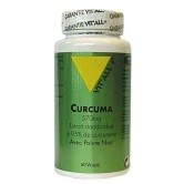 Curcuma poivre noir 60 capsules vitall