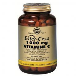 Ester c plus 1000 vitamine c 90 tablettes solgar