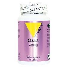 Gaba 250 mg 100 comprime s vitall