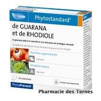 Guaranarhodiole 30cp