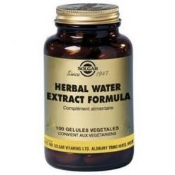 Herbal water formula 100 ge lules solgar