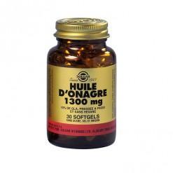 Huile d onagre 1300 mg 30 ge lules solgar