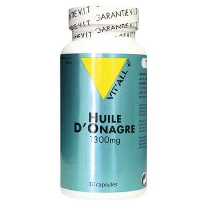 Huile d onagre 1300mg 30 capsules vitall 5535 1