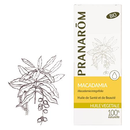 Huile vegetale macadamia
