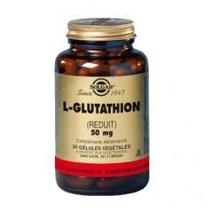 L glutathion 50mg 30 ge lules solgar