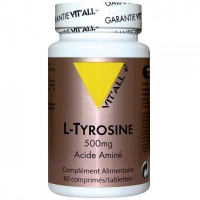 L tyrosine 500 mg 60 comprime s vitall