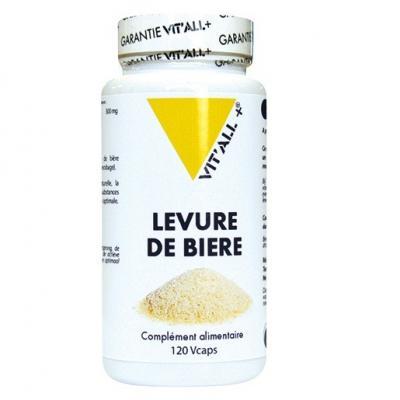 Levure de biere 300 mg 120 comprimes vitall 3691 1