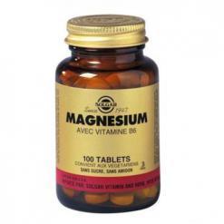 Magne sium vitamine b6 100 tablettes solgar