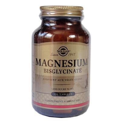 Magnesium bisglycinate solgar product display