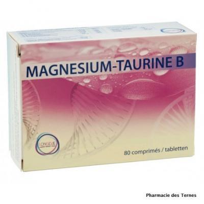 Magnesium taurine b boite de 80 comprimes 1