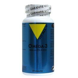 Omega 3 1000mg 60 capsules vitall 583 2