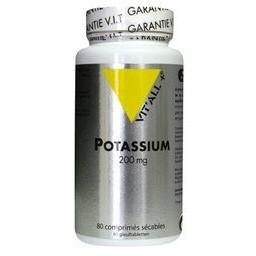 Potassium 200 mg 80 comprimes vitall 3695 1