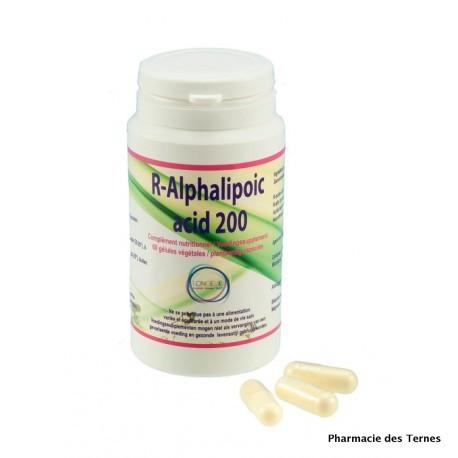 R alphalipoic acid 200 pot de 60 gelules 1