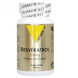 Resveratrol 100mg 30 comprimes vitall 1929 1