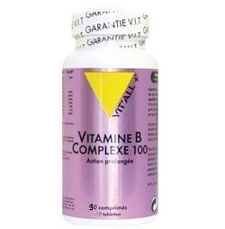 Vitamine b complexe 100 30 comprimes vitall 3713 1
