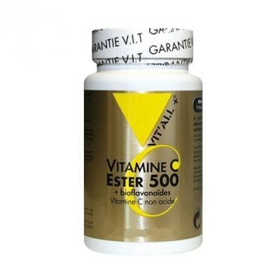 Vitamine c ester 500 100 comprimes vitall 5743 1