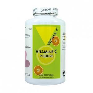 Vitamine c poudre 250 gr vitall 6375 1