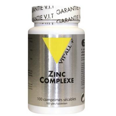 Zinc complexe 15 mg 100 comprime s vitall